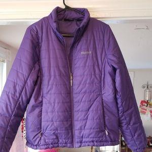 Marmot Purple Large Womens Puff jacket